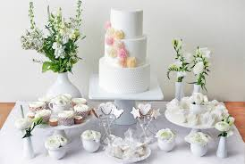 Wedding Cake Table Dessert Tables And Favours From Abigail Bloom