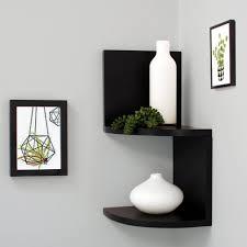 small corner bookshelf