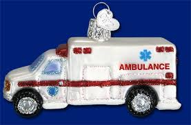 ambulance ornament item 425543 the mouse