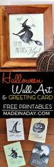 sketchy halloween printable wall art greeting cards made in a day