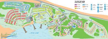 Tower Of Joy Map Pine Lake Leisure Club Site Plan