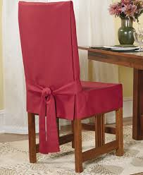 Dining Chair Short Slipcovers Sure Fit Short Dining Room Chair Slipcover Slipcovers For The