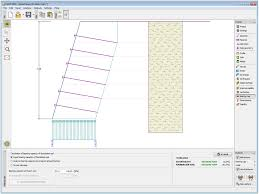 wall design soil nail wall design software thousands pictures