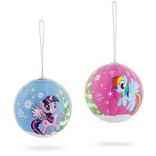 pony ornament set