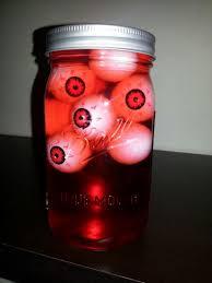 eyeball decorations halloween tutorialous com 15 incredible dit mason jar projects for halloween