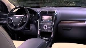 ford explorer 2017 2017 ford explorer platinum interior exterior and driving test