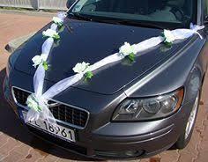 hochzeitsdekoration auto wimpelkette just my type just married wedding wedding cars