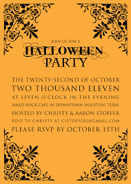 100 halloween birthday party invitations templates hello