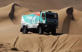 iveco trakker dakar rally truck numero 518 en el dakar 2012 por