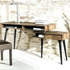 bureau bois et metal bureau mactal et bois bureau metal et bois bureau bois metal