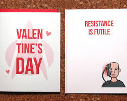 trek valentines day cards trek card klingon i you