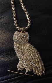 owl necklace pendants images Octobers very own drake crew only exclusive ovo gold diamond owl