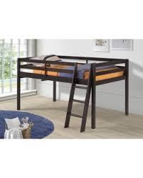 holiday sale zoomie kids gladwin wood framed twin low loft bed