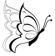 printable butterfly coloring 100 images butterfly