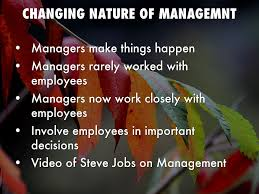 Managing And Management Responsibilities By Tranderson