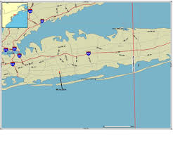 Map Of Long Island New York by Long Island Hurricanes
