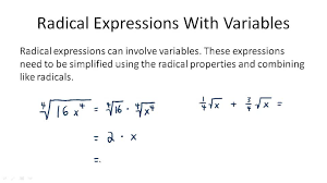 solving radical equations with variables on both sides ck 12