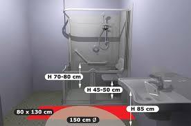 norme handicapé chambre normes d accessibilité pmr salle de bain