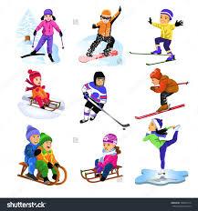 winter sports clipart u2013 101 clip art