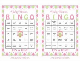 bingo baby shower game download for bingo cards baby baby