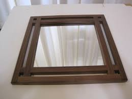 craftsman style mirrors home decorating inspiration