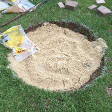 fire pit sand diy fire pit and seating area 15 steps with pictures