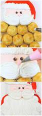 sweet santa claus pull apart cupcake cake blog tutorial my cake