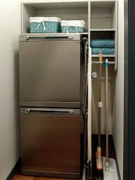 laundry room storage ideas diy broom cupboard solutions tall