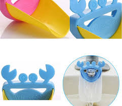 baby faucet extender washing hands bathroom sink lovely crab kid
