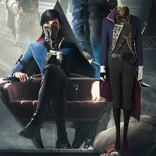 Emily Halloween Costume Dishonored 2 Costume Emily Kaldwin Cosplay Halloween Game Fancy