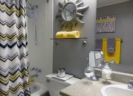 Grey Bathrooms Decorating Ideas Grey And Yellow Bathroom Set My Web Value