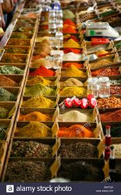 cours de cuisine alpes maritimes spice stall at the cours massena market in the town antibes