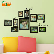 aliexpress com buy dctop photo frame wall decals removable