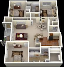 3 bedroom apartment house plans escortsea