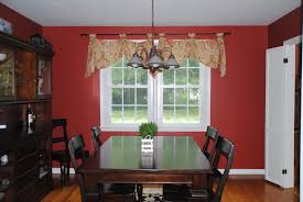 red dining room dark dining room to bright home office makeover reveal