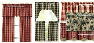 Navy Blue Plaid Curtains Plaid Curtains Barn Buffalo Check Highland Lined Eyelet
