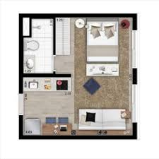 Studio Plans by 20ftx24ft Cabin Or Studio Apartment Layout Compact Living Spaces