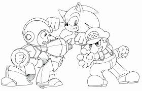 megaman coloring pages coloring home