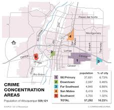 Crime Spot Map The 5 Most Violent Areas To Live In Albuquerque Albuquerque Journal