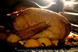 comment cuisiner l oie oie farcie rôtie au four petits plats entre amis