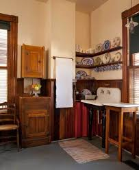 Unfitted Kitchen Furniture An Authentic Victorian Kitchen Design Old House Restoration