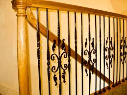 Metal Banister Spindles How To Install Iron Stair Spindles Classic Iron Stair Spindles