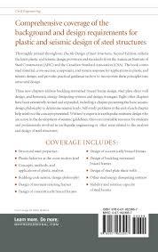 ductile design of steel structures 2nd edition michel bruneau