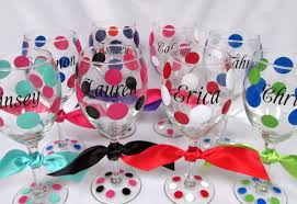 wine glass party favor glassware wedding party favors wine glasses bright diy wine
