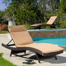 Outdoor Chaise Lounges Patio Chaise Lounge As The Must Have Furniture In Your Pool Deck