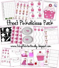 free worksheets pinkalicious free printable pack preschool