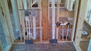 barb and jeff u0027s new house plumbing has begun