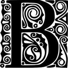 fancy letter c decorative alphabet letter g clip art vector