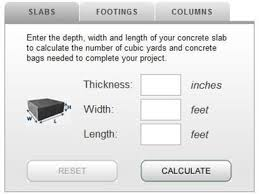 Patio Paver Base Calculator Patios How Much Concrete Calculator And Tips For Estimating The
