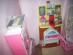 Dollhouse Kitchen Furniture An Ooak Dollhouse Kitchen Using Various Barbie Recycled Kitchen